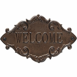 Iron Welcome Plaque