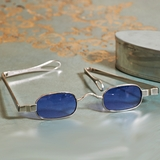Jefferson�s Rectangular Tinted Spectacles