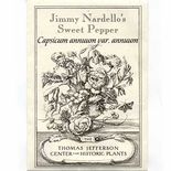 Jimmy Nardello's Sweet Pepper Seeds (<i>Capsicum annuum var. annuum</i>)