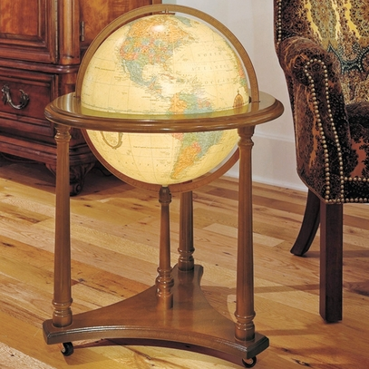 Lafayette Lighted Globe with Stand