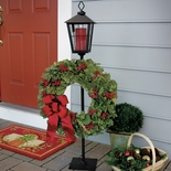 Lamppost Wreath Holder