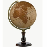 Leather Desk Globe