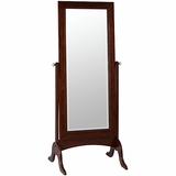 Maghogany Floor Mirror