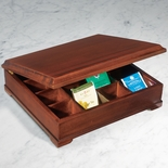 Mahogany Tea Chest