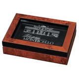 Monticello Business Card Holder