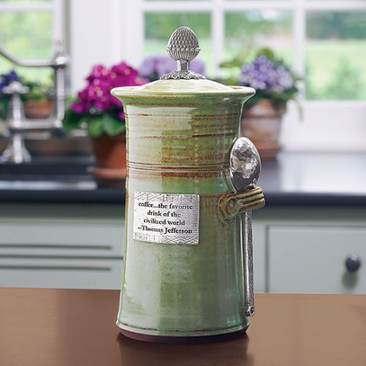 Monticello Coffee Canister