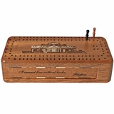 Monticello Cribbage Box
