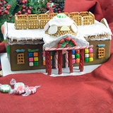 Monticello Gingerbread House Kit