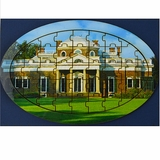 Monticello Oval Wood Puzzle