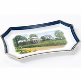 Monticello Porcelain Tray