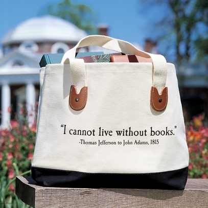 Monticello Quote Tote Bag