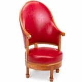 Monticello Revolving Arm Chair