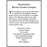 Monticello's Kitchen Garden Sampler