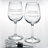 Jefferson Wine Quote Set