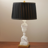 Neoclassical Marble Lamp