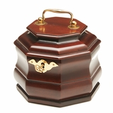 Octagonal Tea Chest