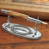 Personalized Pewter Pen Stand