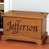 Personalized Trunk - Light Finish