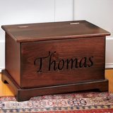 Personalized Trunk - Dark Finish