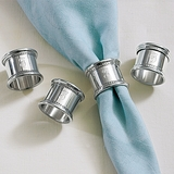 Pewter Napkin Rings