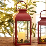 Red Carriage Lantern (Large)