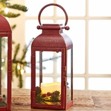 Red Carriage Lantern (Small)