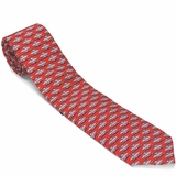 Vineyard Vines Red Monticello Necktie