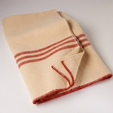 Red Striped Lap Blanket