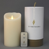 "Remote Control Flameless 7"" Candle"