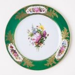 S�vres Green Tin Plate