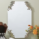 Scrolled Mirror
