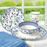 Spode Blue Portofino Place Setting