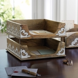 Stacking Trays Desk Accessory