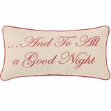 To All a Good Night Pillow