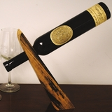 Tulip Poplar II Wine Bottle Holder