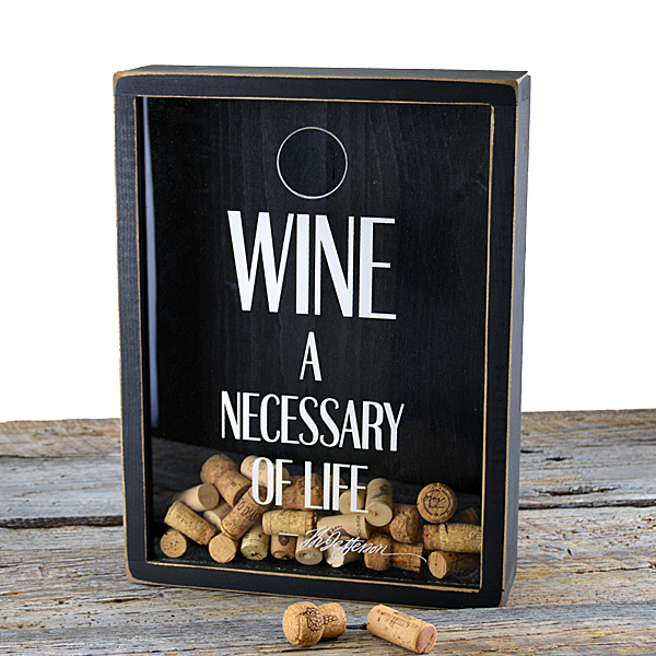 wine cork frame