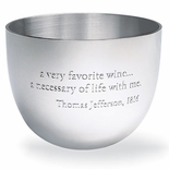 Wine Quote Jefferson Cup