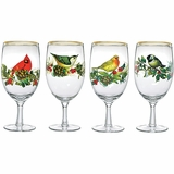 Winter Greeting Goblets