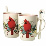 Winter Greeting Mugs