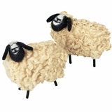 Wooly Sheep Ornaments