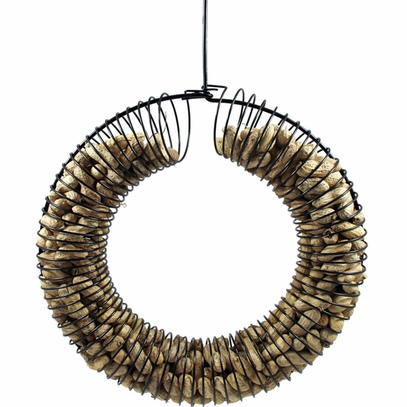 Wreath Peanut Feeder