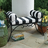Wrought-Iron Arbor Bench