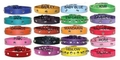 Leather Dog Collars 3/4 inch wide