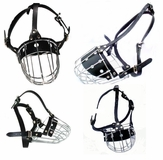 Wire Basket Cage Dog Muzzles (all 17  Sizes)