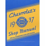 1937 Chevrolet / Chevy Truck Shop Manual