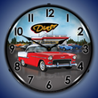 1955 Bel Air Diner Wall Clock, Lighted
