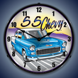 1955 Chevy Wall Clock, Lighted