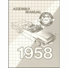 1958 Chevrolet Factory Assembly Instruction Manual