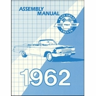 1962 Chevrolet Factory Assembly Instruction Manual