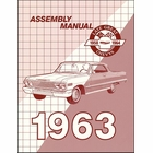 1963 Chevrolet Factory Assembly Instruction Manual